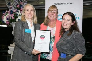 Feel Good Co-operative London Healthly Workplace Charter Awards 2018