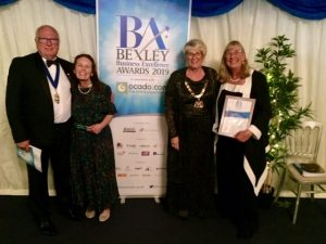 Mayor and Mayoress of Bexley with Kate and Sandy