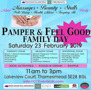 Pamper & Feel Good Family Day Event