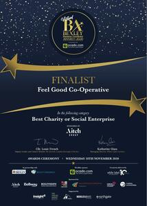 Bexley Business Excellence Finalist Certificate 2020